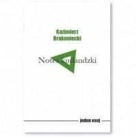 Notes kurlandzki - okładka książki