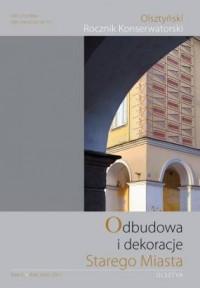 Olsztyński Rocznik Konserwatorski. - okładka książki
