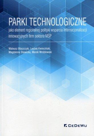 Parki technologiczne jako element - okładka książki