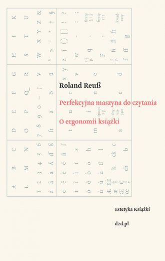 Perfekcyjna maszyna do czytania. - okładka książki