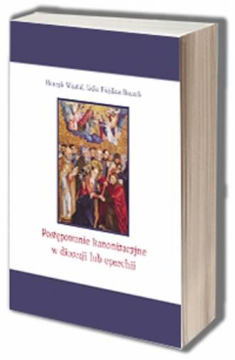 Postępowanie kanonizacyjne w diecezji - okładka książki
