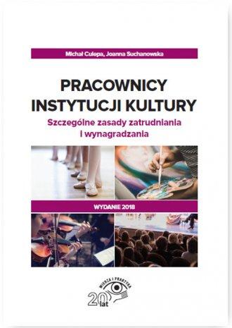 Pracownicy instytucji kultury. - okładka książki