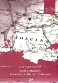 Przed Grotowskim - okładka książki