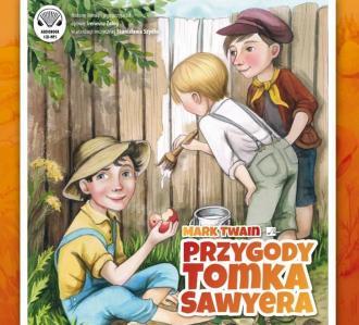 Przygody Tomka Sawyera - pudełko audiobooku
