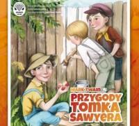 Przygody Tomka Sawyera - Mark Twain - okładka płyty