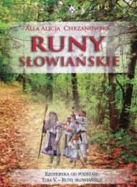 Runy słowiańskie - okładka książki