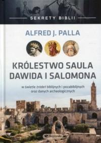 Sekrety Biblii Królestwo Saula, - okładka książki