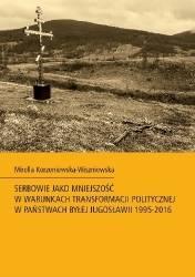 Serbowie jako mniejszość w warunkach - okładka książki