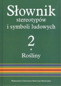 Słownik stereotypów i symboli ludowych - okładka książki