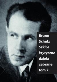 Szkice Krytyczne - Bruno Schulz - okładka książki
