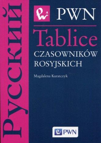 Tablice czasowników rosyjskich - okładka podręcznika