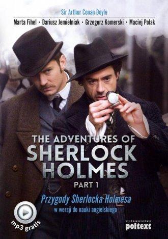 The Adventures of Sherlock Holmes - okładka podręcznika