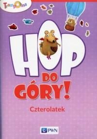 Trampolina Hop do góry! Czterolatek Teczka - okładka podręcznika