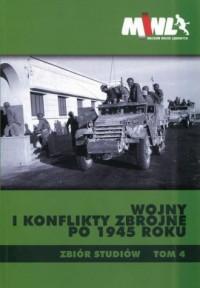 Wojny i konflikty zbrojne po 1945 - okładka książki