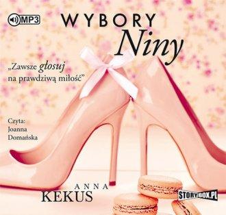 Wybory Niny - pudełko audiobooku