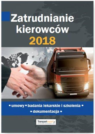 Zatrudnianie kierowców 2018. Umowy - okładka książki
