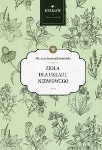 Zioła dla układu nerwowego - okładka książki