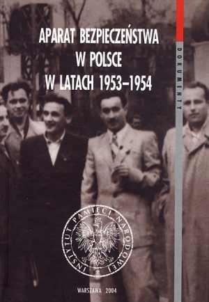 Aparat bezpieczeństwa w Polsce - okładka książki