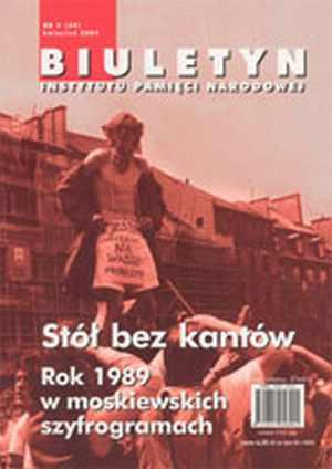 Biuletyn IPN nr 39(4)/2004 - okładka książki