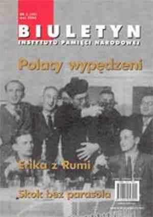 Biuletyn IPN nr 40(5)/2004 - okładka książki