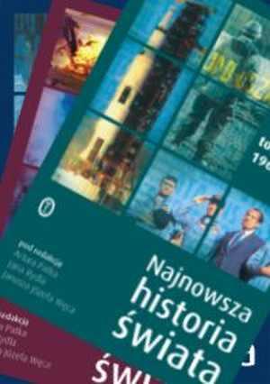 Najnowsza historia świata 1945-1995. - okładka książki