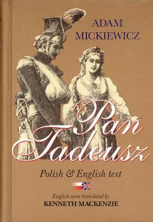 Pan Tadeusz (tekst polski i angielski) - okładka książki