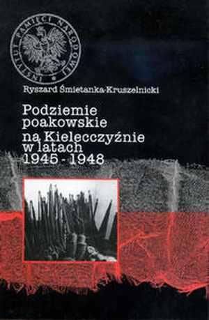 Podziemie poakowskie na kielecczyźnie - okładka książki