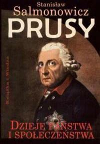 Prusy. Dzieje państwa i społeczeństwa - okładka książki