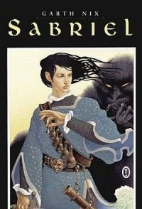 Sabriel - okładka książki