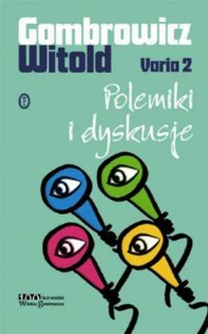 Varia 2. Polemiki i dyskusje - okładka książki