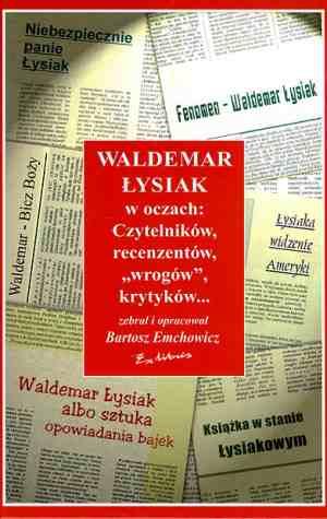 Waldemar Łysiak w oczach czytelników, - okładka książki