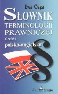 Słownik terminologii prawniczej polsko-angielski - okładka książki