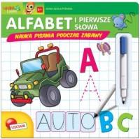 Alfabet i pierwsze słowa - okładka książki