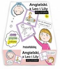 Angielski z Leo i Lily Karty obrazkowe - okładka podręcznika