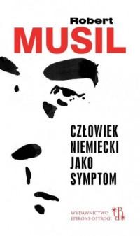Człowiek niemiecki jako symptom - okładka książki