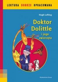 Doktor Dolittle i jego zwierzęta - okładka książki