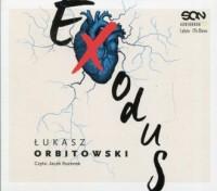 Exodus - Łukasz Orbitowski - pudełko audiobooku