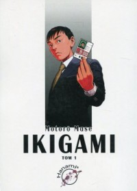 Ikigami 1 - okładka książki