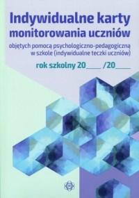 Indywidualne karty monitorowania - okładka książki