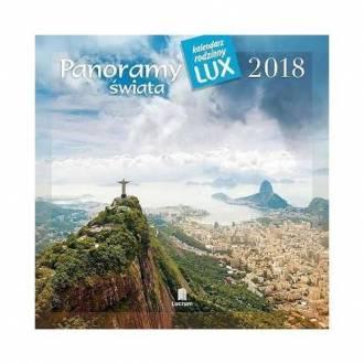 Kalendarz rodzinny lux 2018 - Panoramy - okładka książki