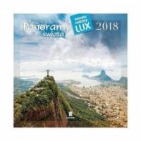 Kalendarz rodzinny lux 2018 - Panoramy świata - okładka książki