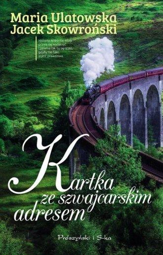 Kartka ze szwajcarskim adresem - okładka książki