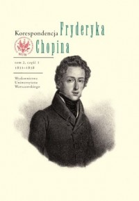 Korespondencja Fryderyka Chopina. - okładka książki