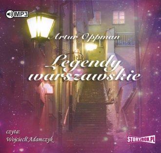 Legendy warszawskie - pudełko audiobooku