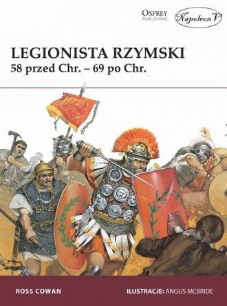 Legionista rzymski 58 przed Chr. - okładka książki