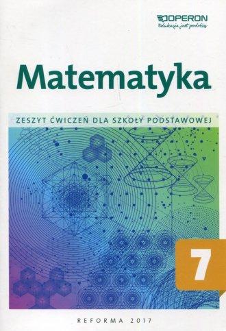 Matematyka 7. Szkoła podstawowa. - okładka podręcznika