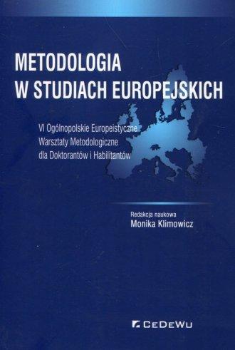 Metodologia w studiach europejskich. - okładka książki