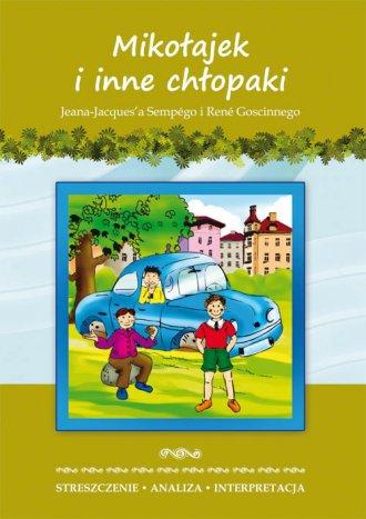 Mikołajek i inne chłopaki J-J. - okładka podręcznika