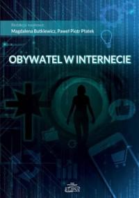 Obywatel w internecie - okładka książki