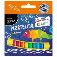 Plastelina mała 12 kolorów - zdjęcie produktu
